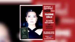 Ankara Edebiyat Gönüllüleri grubundan Yazar Fadime Uslu ile buluşma