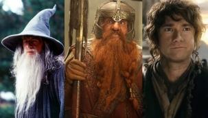 Yüzüklerin Efendisi oyuncuları Tolkien'in evi için bir araya geldi