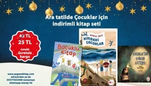 Yegâne Kitap'tan yarıyıl tatiline özel kampanya