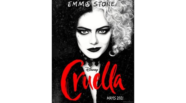 """Disney tarafından """"Cruella"""" filmine ait ilk fragman ve afiş"""