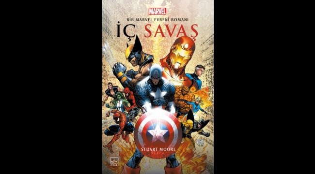 """""""İç Savaş: Bir Marvel Evreni Roman"""" İthaki etiketiyle raflarda"""