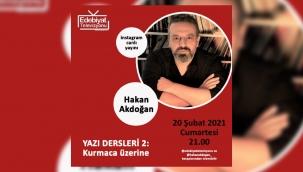 Yazar Hakan Akdoğan'dan yazı dersleri