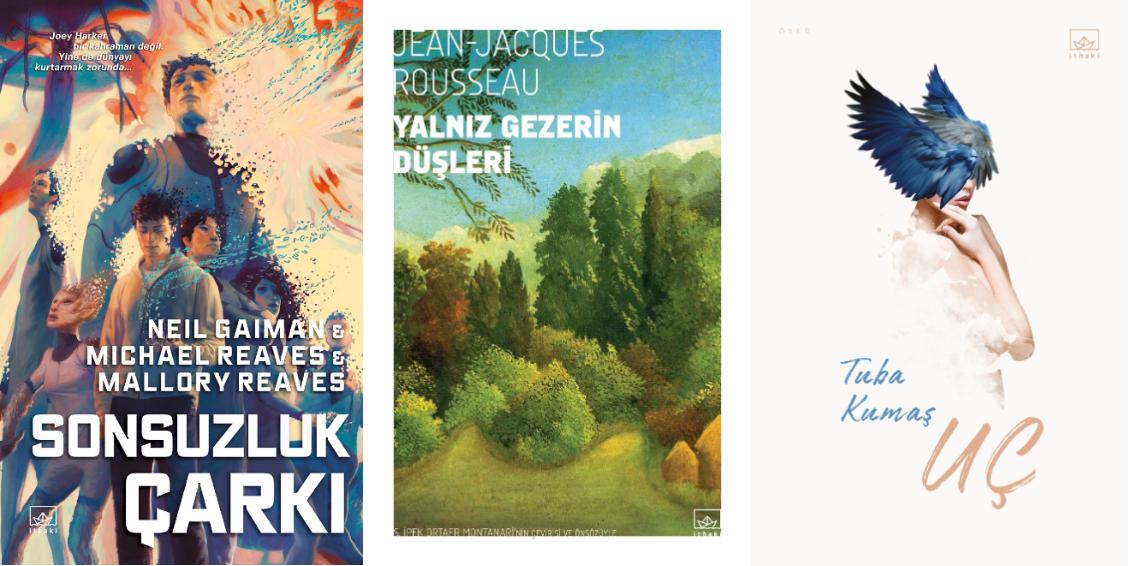İthaki Yayınları'ndan yeni kitaplar