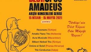 Best of Opus Amadeus Oda Müziği Festivali 15 Nisan-15 Mayıs arası çevrimiçi