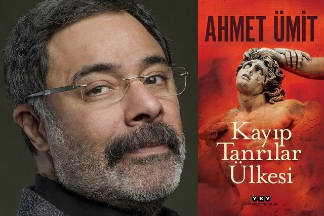 Ahmet Ümit'in yeni romanı Kayıp Tanrılar Ülkesi raflardaki yerini aldı