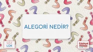 Alegori nedir?