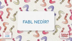 Fabl nedir?