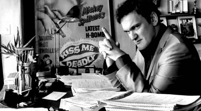 Sinemanın efsanelerinden Tarantino'nun en sevdiği kitaplar...
