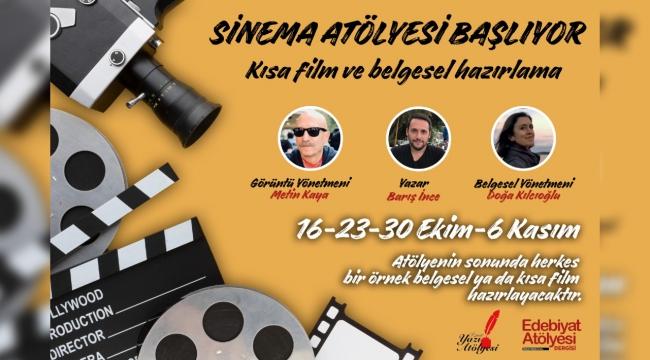 İzmir'de yüz yüze sinema atölyesi