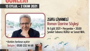 Zülfü Livaneli, Bodrum Edebiyat Atölyesi Günleri'nin konuğu oluyor