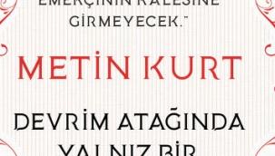 Efsane futbolcu Metin Kurt'un hayatını anlatan kitap raflarda